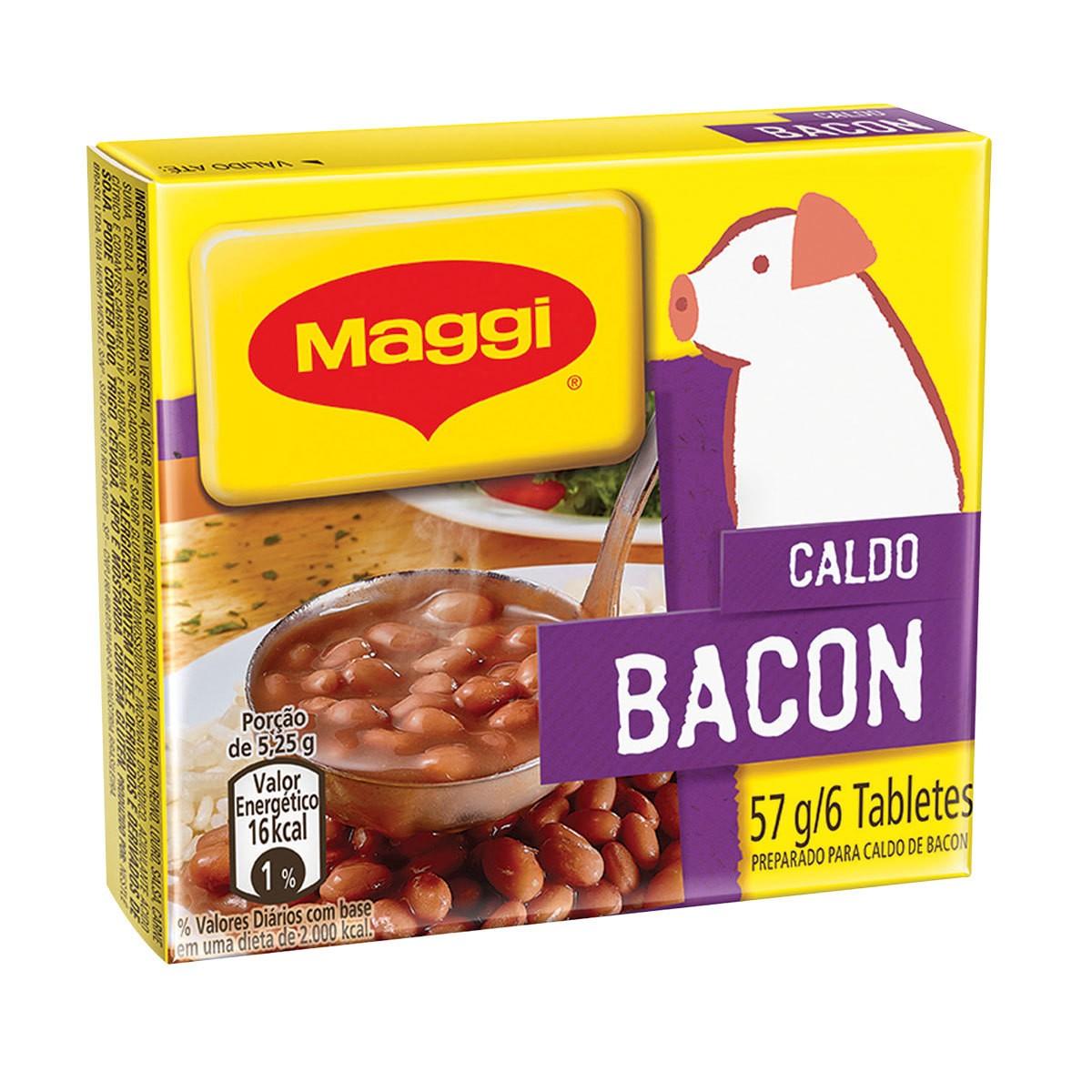 CALDO SABOR BACON MAGGI 53G