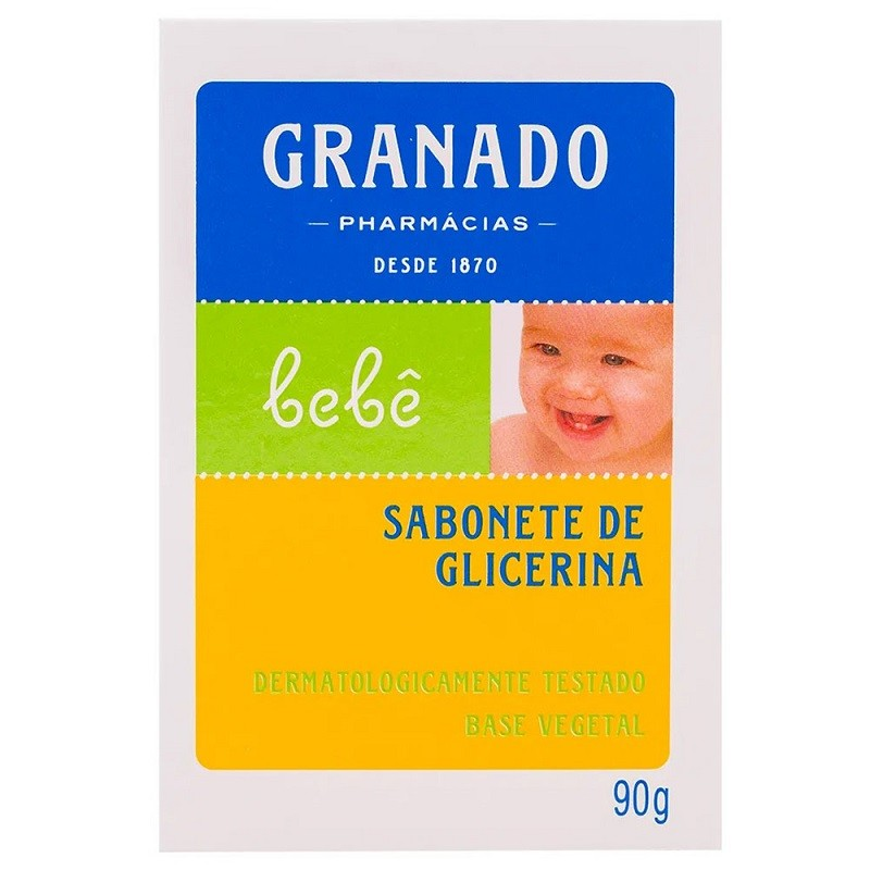 SABONETE DE GLICERINA GRANADO BEBÊ  90G