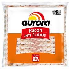 BACON EM CUBOS AURORA 1KG
