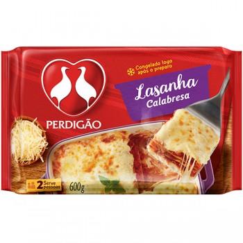 LASANHA DE CALABRESA PERDIGÃO 600G