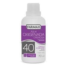 ÁGUA OXIGENADA CREMOSA FARMAX VOL 40 90ML