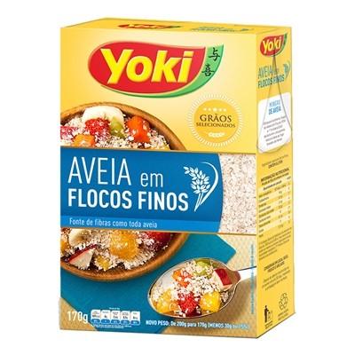 AVEIA EM FLOCOS FINOS YOKI 170G