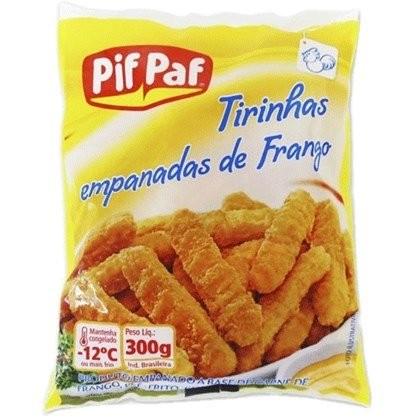 TIRINHAS EMPANADAS DE FRANGO PIF PAF 300G