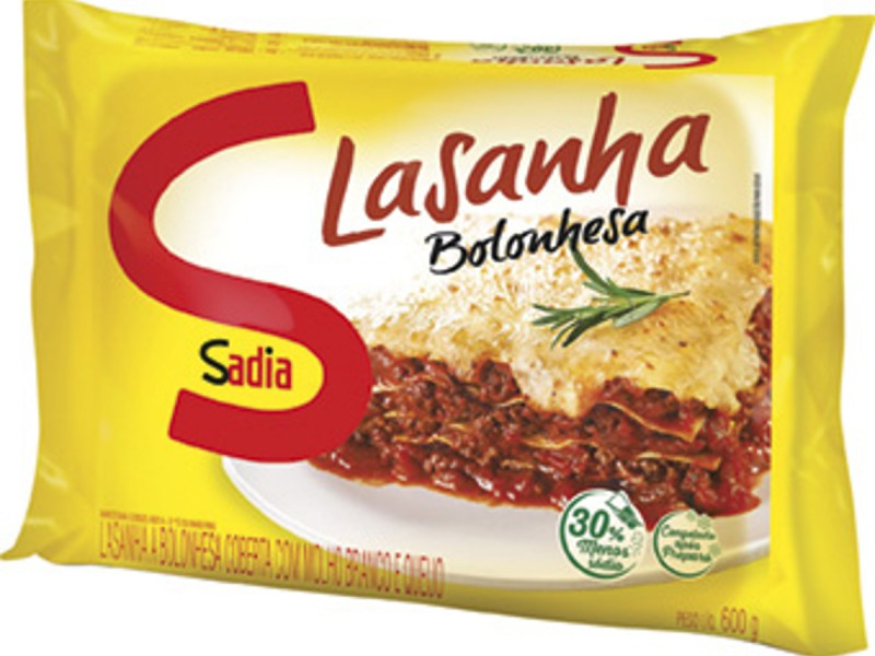 LASANHA À BOLONHESA SADIA 600G
