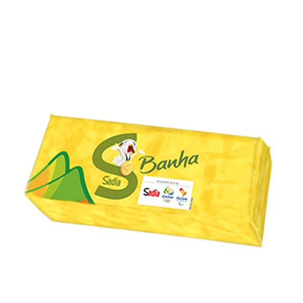 BANHA REFINADA SADIA 1KG