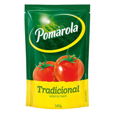 MOLHO DE TOMATE POMAROLA TRADICIONAL SACHÊ 340G