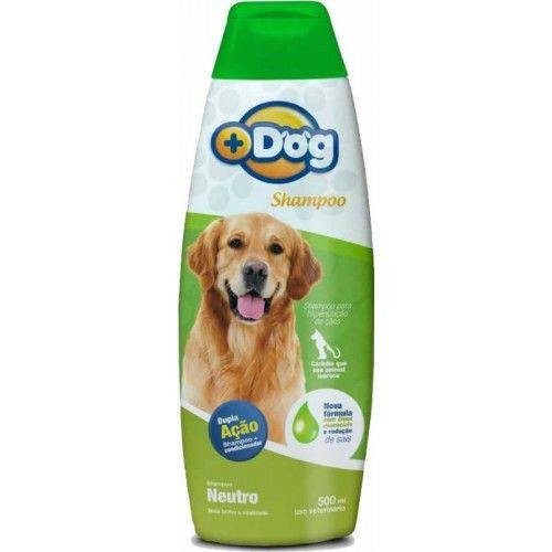 SHAMPOO + CONDICIONADOR NEUTRO MAIS DOG 500ML