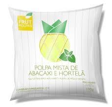POLPA FRUT POLPAS DE ABACAXI COM HORTELA 100G