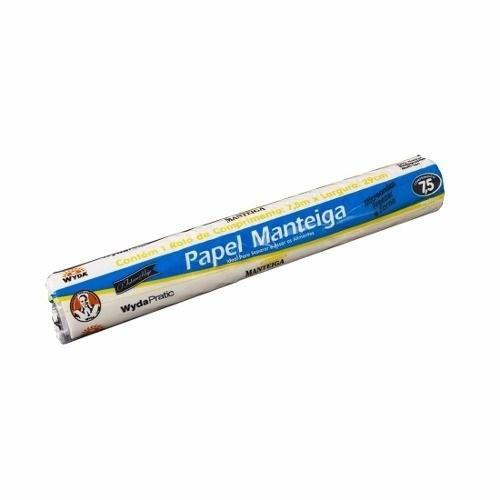 PAPEL MANTEIGA PRATIK 30CM 4M