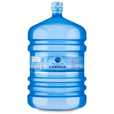 ÁGUA MINERAL MONTE CARMELO 20 L (verificar validade do galão retornável)