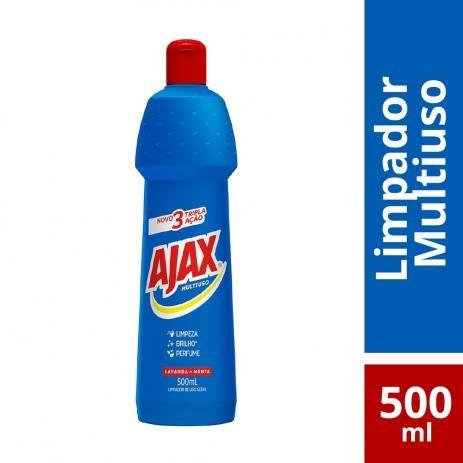 LIMPADOR MULTIUSO AJAX  LAVANDA E MENTA 500ML