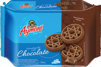 BISCOITO AYMORÉ AMANTEIGADO CHOCOLATE 330G
