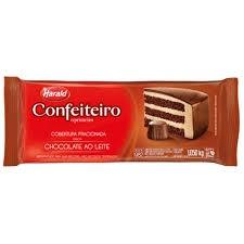 CHOCOLATE CONFEITEIRO HARALD  AO LEITE 1,050KG