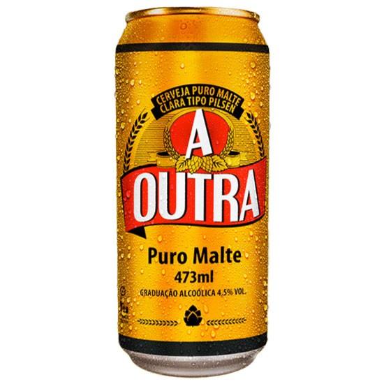 CERVEJA A OUTRA PURO MALTE LATÃO 473ML