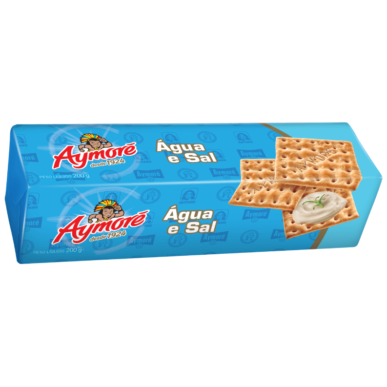 BISCOITO AYMORÉ  ÁGUA E SAL 200G