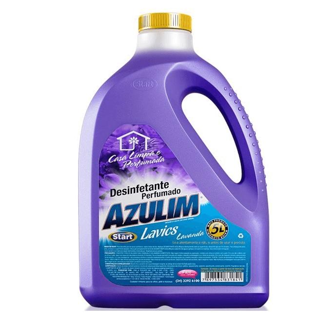 DESINFETANTE AZULIM LAVICS 5L