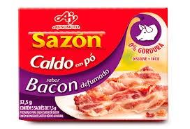 CALDO EM PÓ SAZON BACON AJINOMOTO 37,5G