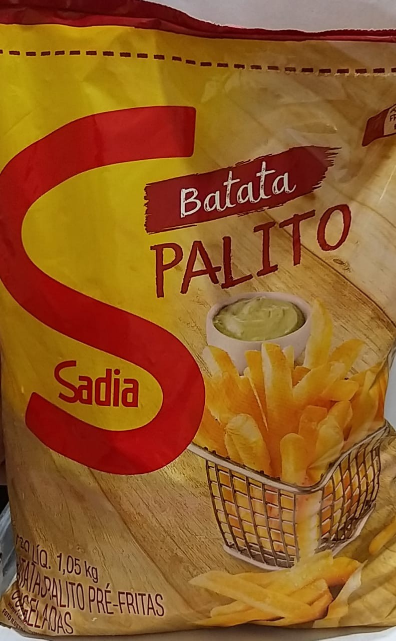 BATATA CONGELADA SADIA 1,05KG