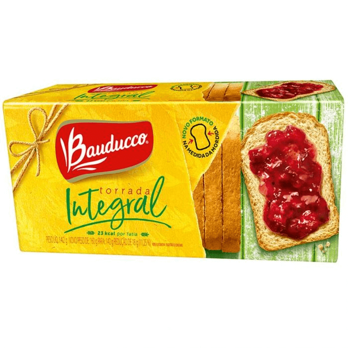 TORRADA INTEGRAL BAUDUCCO 143G