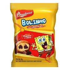 BOLINHO GULOSOS BAUNILHA E CHOCOLATE BAUDUCCO 40G