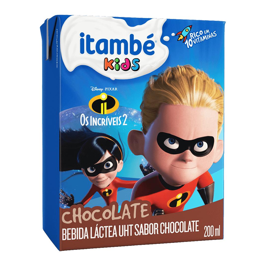 BEBIDA LÁCTEA ITAMBEZINHO CHOCOLATE 200ML