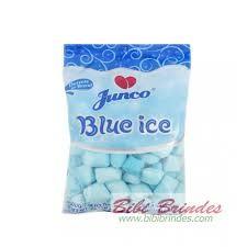 BALA DE ANIVERSARIO JUNCO SABOR BLUE ICE 400G