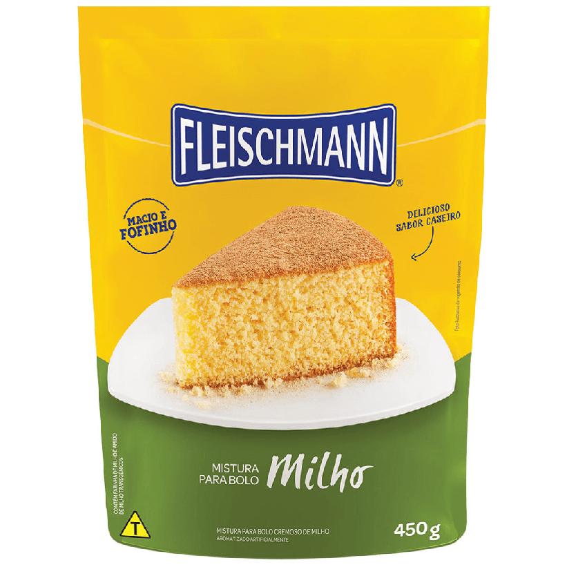 MISTURA PARA BOLO DE MILHO  FLEISCHMANN 450G