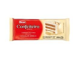 CHOCOLATE CONFEITEIRO HARALD BRANCO 1,050KG