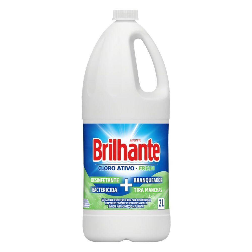 ALVEJANTE BRILHANTE CLORO ATIVO FRESH 2L