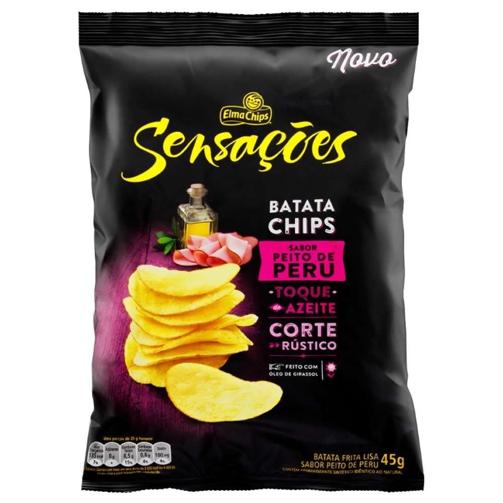 BATATA SENSAÇÕES PEITO DE PERU 45G
