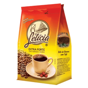 CAFÉ LETÍCIA EXTRA FORTE 500G