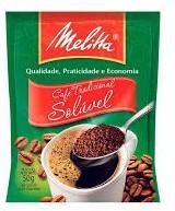 CAFE MELITA TRADICIONAL SOLÚVEL INSTANTÂNEO SACHÊ 50g