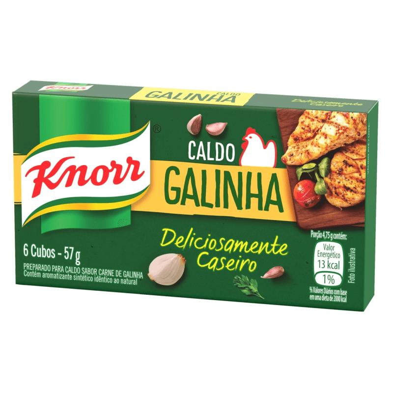 CALDO DE GALINHA KNORR 57G