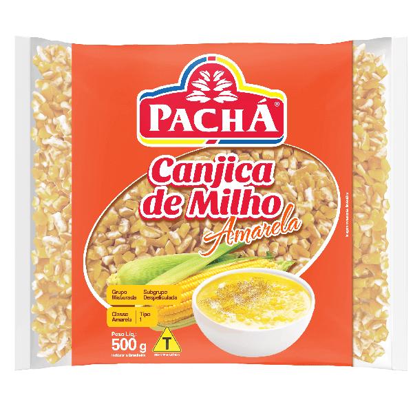 CANJICA AMARELA PACHÁ 500G