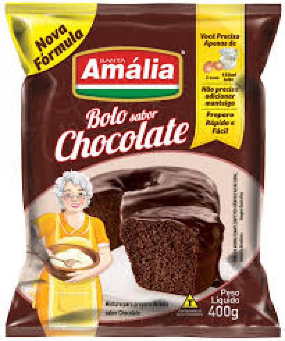 MISTURA PARA BOLO SANTA AMALIA CHOCOLATE 400G