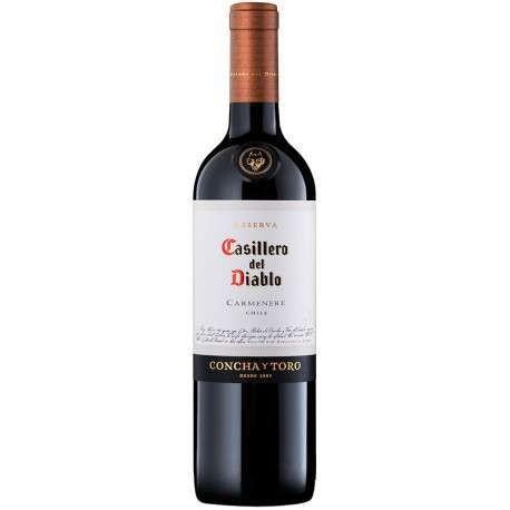 VINHO CASILLERO  DEL DIABLO CARMENERE 750ML ( SECO)