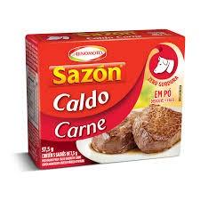 CALDO EM PÓ SAZON CARNE AJINOMOTO 37,5G