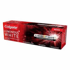 CREME DENTAL COLGATE LUMINOUS WHITE COM CARVÃO ATIVADO 70G