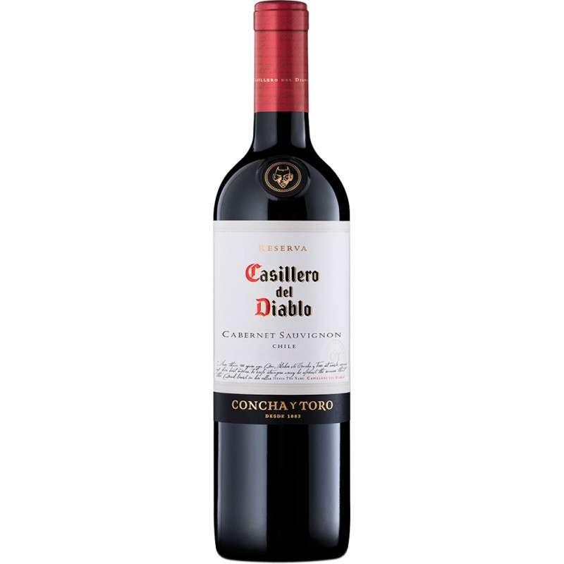 VINHO CASILLERO DEL DIABLO CABERNET SAUVIGNON 750ML ( SECO)