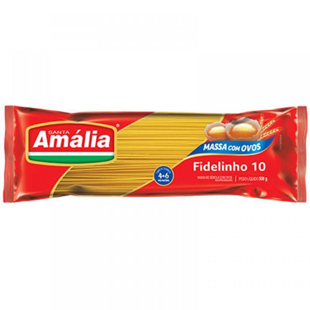 MACARRÃO COM OVOS FIDELINHO SANTA AMALIA 500G