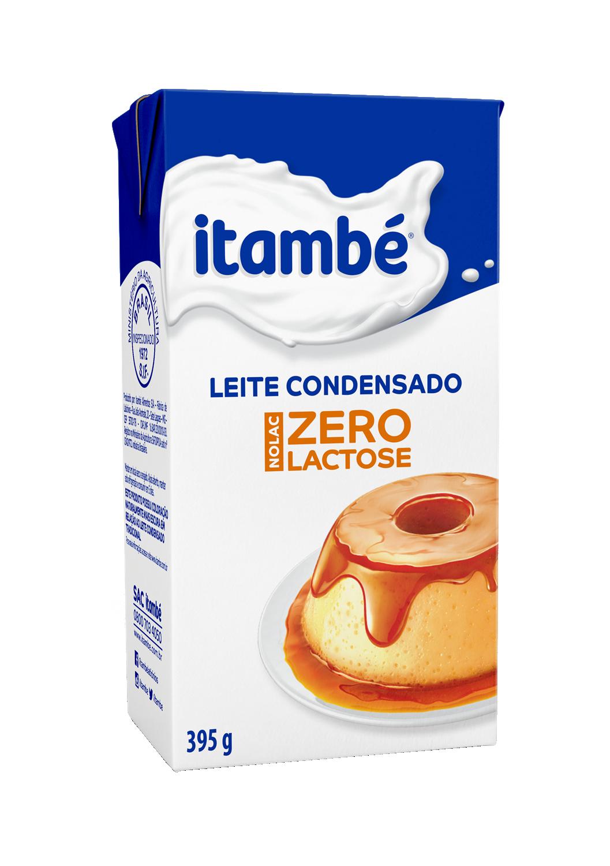 LEITE CONDENSADO ITAMBÉ ZERO LACTOSE CARTONADO 395G