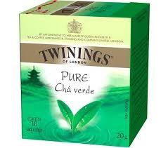 CHÁ TWININGS VERDE 10 SAQUINHOS 20G
