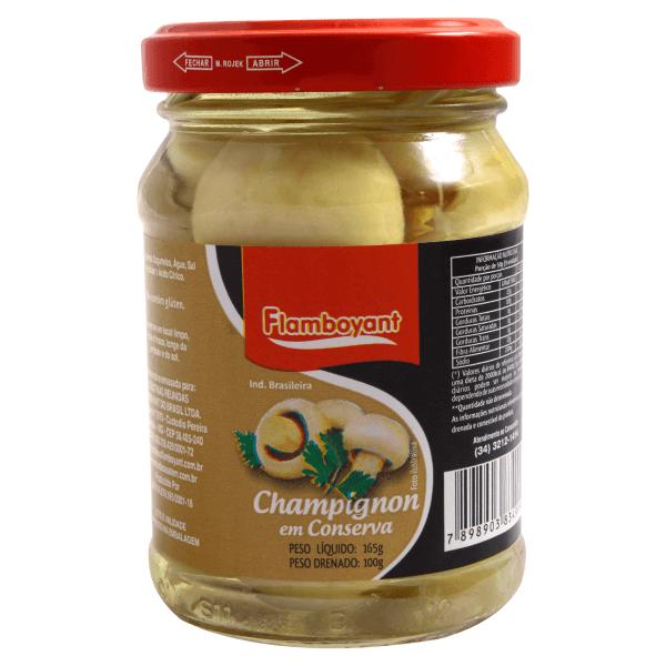 COGUMELO CHAMPIGNON FLAMBOYANT INTEIRO 100G