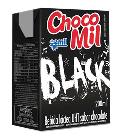 BEBIDA LÁCTEA CHOCOMIL BLACK CEMIL 200ML