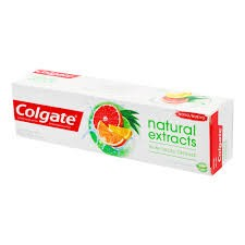 CREME DENTAL COLGATE NATURALS EXTRACTS CITRUS 90G