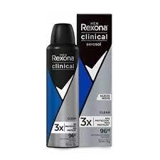 DESODORANTE AEROSOL REXONA CLINICAL  MEN CLEAN 150ML