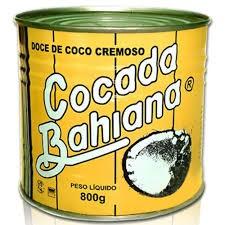 COCADA BAHIANA LATA 800G