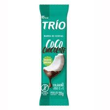 BARRA DE CEREAL TRIO  COCO CHOCOLATE 20G