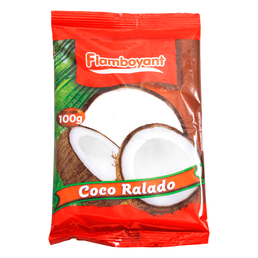 COCO RALADO FLAMBOYANT 100G