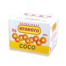 ROSQUINHA KROKERO SORTIDO COCO CAIXA 1,5KG